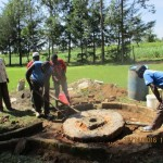 The Water Project : 17-kenya4541-well-pad-construction
