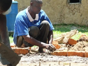 The Water Project : 17-kenya4542-well-pad-construction