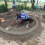 The Water Project : 18-kenya4542-well-pad-construction