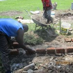 The Water Project : 19-kenya4541-well-pad-construction