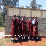The Water Project : 19-kenya4616-finished-latrines