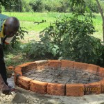 The Water Project : 20-kenya4542-well-pad-construction