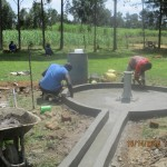 The Water Project : 21-kenya4541-well-pad-construction