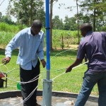 The Water Project : 25-kenya4541-pump-installation