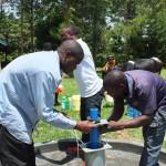 The Water Project : 26-kenya4541-pump-installation
