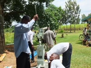 The Water Project : 26-kenya4542-pump-installation