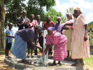 The Water Project : 32-kenya4542-handing-over
