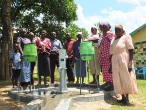 The Water Project : 33-kenya4542-handing-over