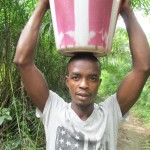 The Water Project : 5-sierraleone5094-carrying-water