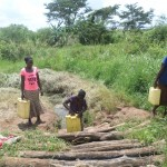 The Water Project : 1-uganda6075-unprotected-spring