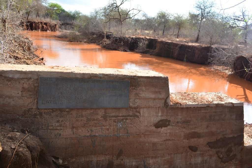 The Water Project : 13-kenya4471-finished-sand-dam