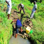 The Water Project : 2-kenya4589-unprotected-spring