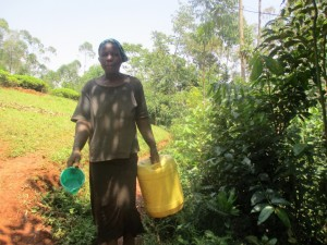 The Water Project : 2-kenya4591-fetching-water
