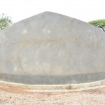 The Water Project: Ndwaani Primary School -  Finished Tank