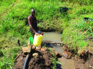 The Water Project : 3-kenya4589-fetching-water