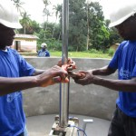 The Water Project : 36-sierraleone5094-pump-installation