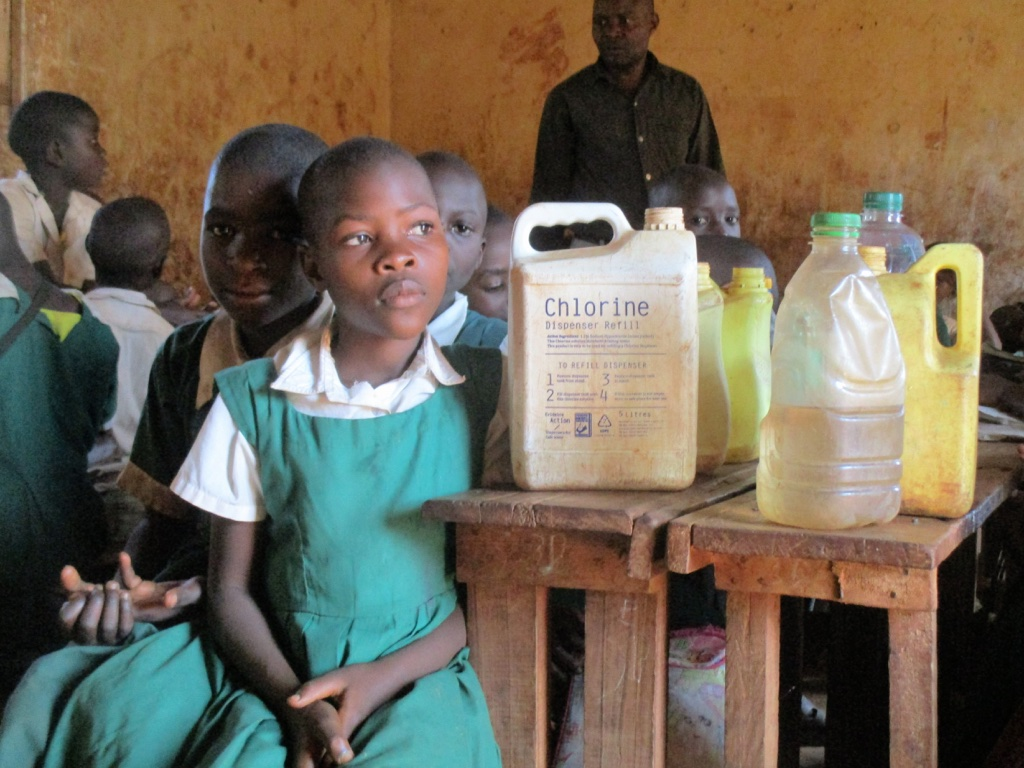The Water Project : 4-kenya4630-students