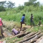 The Water Project : 4-uganda6075-unprotected-spring