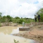 The Water Project: Vinya wa Mwau New Well Project -
