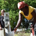 The Water Project: Nzung'u Community A -