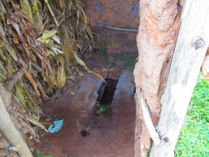 The Water Project : 7-kenya4589-latrine