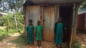 The Water Project : 9-kenya4627-latrines