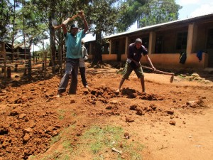 The Water Project : kenya4622-construction