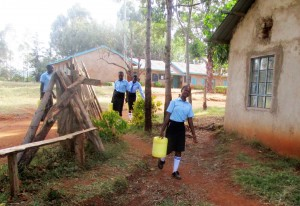 The Water Project:  Fetching Water Before Classes