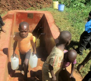The Water Project:  Boys Fetch Water After School