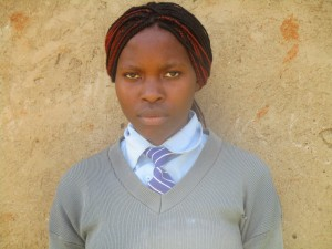 The Water Project:  Student Lucy Mutambe