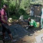 The Water Project : 14-kenya4589-sanitation-platform-construction