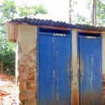 The Water Project: Shipala Primary School -  Staff Latrines