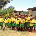 The Water Project: Mahanga Primary School -  Boys Lines