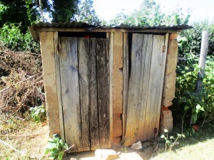 The Water Project:  Shared Latrines