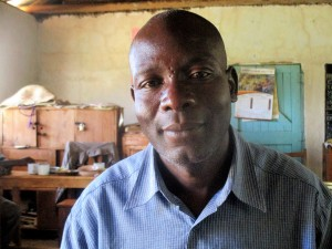 The Water Project:  Mr Victor Kutayi