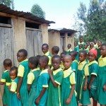 The Water Project: Mahanga Primary School -  Girls Waiting