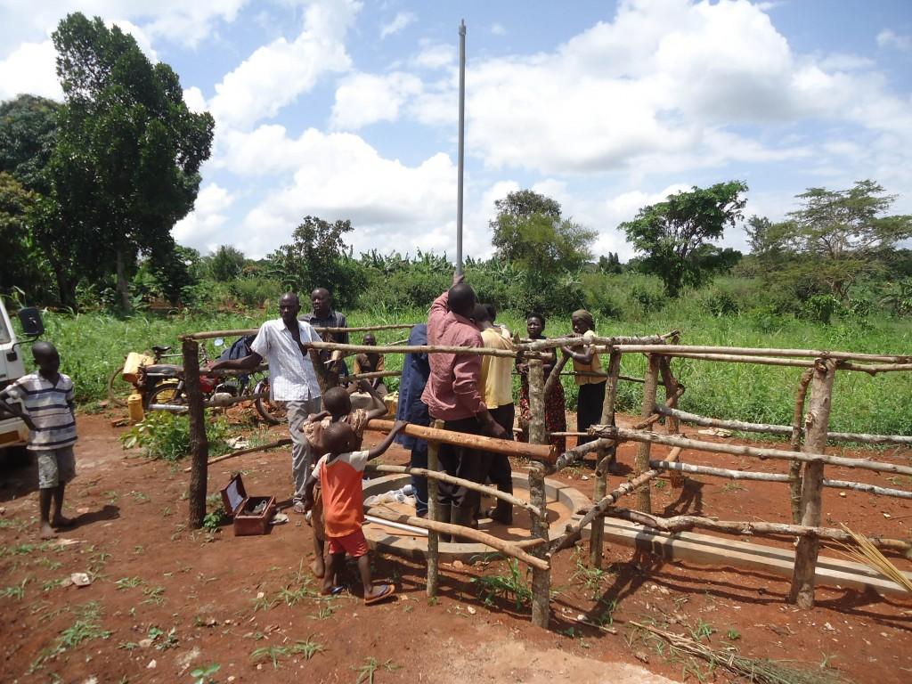 17 uganda6072 pump installation