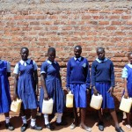 The Water Project: Shipala Primary School -  Girls Who Fetch Water