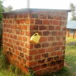 The Water Project: Bumuyange Secondary School -  Teachers Latrine