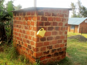 The Water Project:  Teachers Latrine