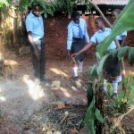 The Water Project: Bumuyange Secondary School -  Trash Pit