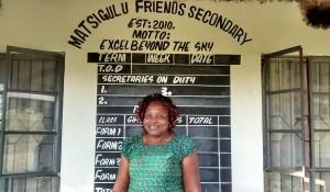 The Water Project:  Principal Lydia Eunice Amara