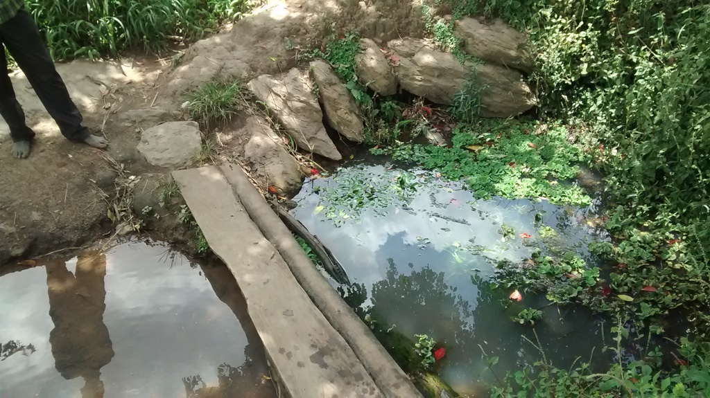 The Water Project : 3-uganda6074-unprotected-spring