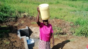 The Water Project : 39-kenya4581-protected-spring