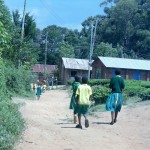 The Water Project: Mahanga Primary School -  Walking To School