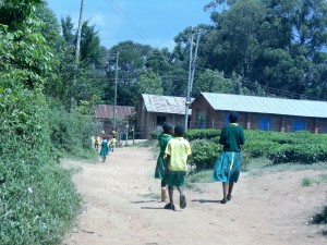 The Water Project:  Walking To School