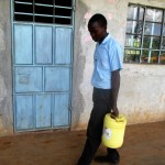 The Water Project: Bumuyange Secondary School -  Water From Home