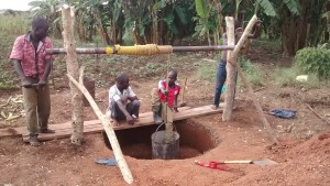 The Water Project : 6-uganda6070-construction