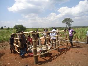 The Water Project : 6-uganda6075-installation