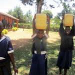 The Water Project: Emmabwi Primary School -  Students Sent To Fetch Water
